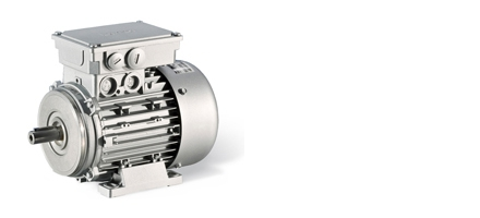 MF three-phase AC motors optimised for inverter operation
